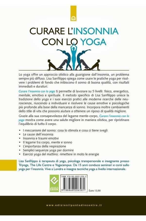 Curare l'insonnia con lo yoga