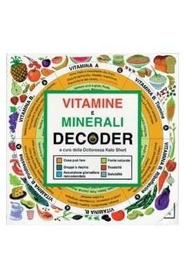 Decoder Vitamine e minerali
