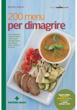 eBook: 200 menu per dimagrire