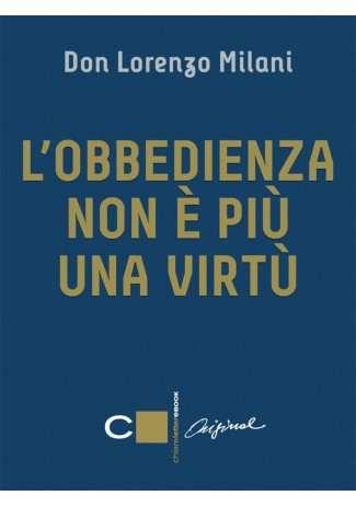 eBook: L'obbedienza non è più una virtù