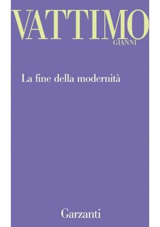 eBook: La fine della modernità