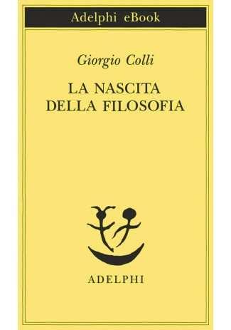 eBook: La nascita della filosofia