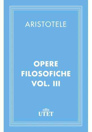 eBook: Opere filosofiche. Vol. III