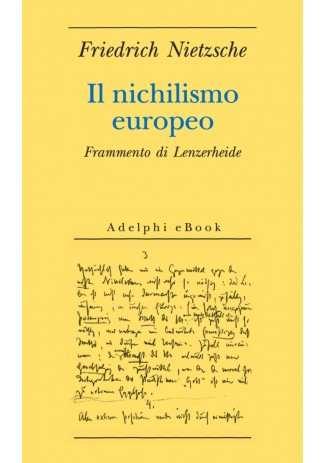 eBook: Il nichilismo europeo