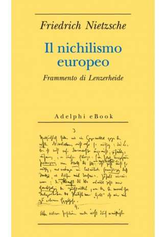 eBook: Il nichilismo europeo
