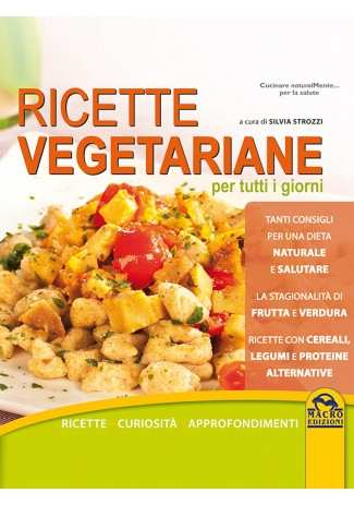 eBook: Ricette Vegetariane per Tutti i Giorni