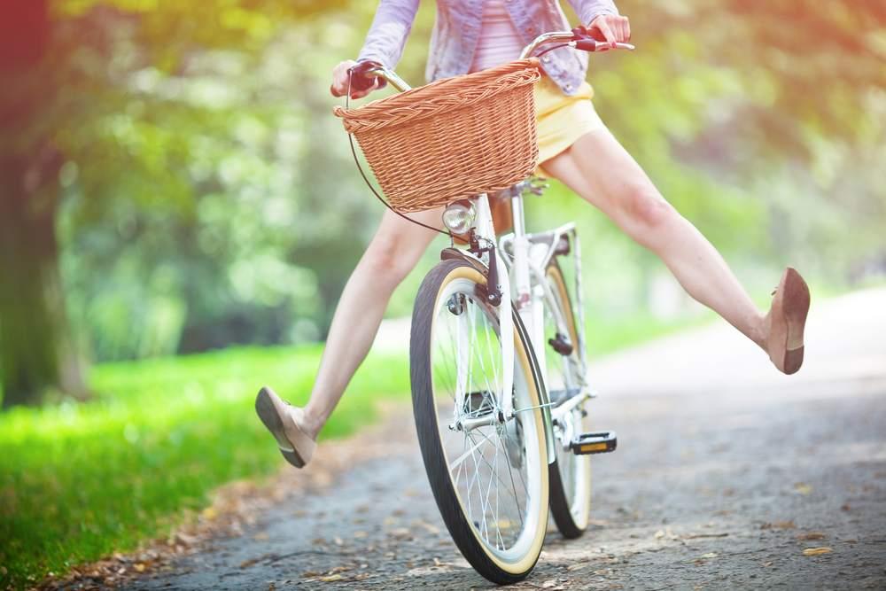 Felicità in bicicletta