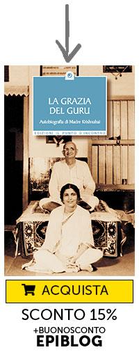 "Libro ""La Grazia del Guru"", Krishnabai"