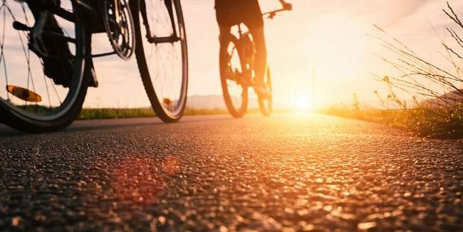 mindfulness dinamica in bicicletta