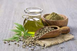 olio di semi di canapa e olio di canapa
