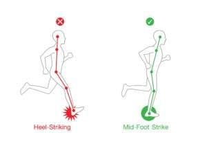 postura corretta per camminata veloce