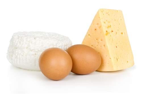 uova e latticini