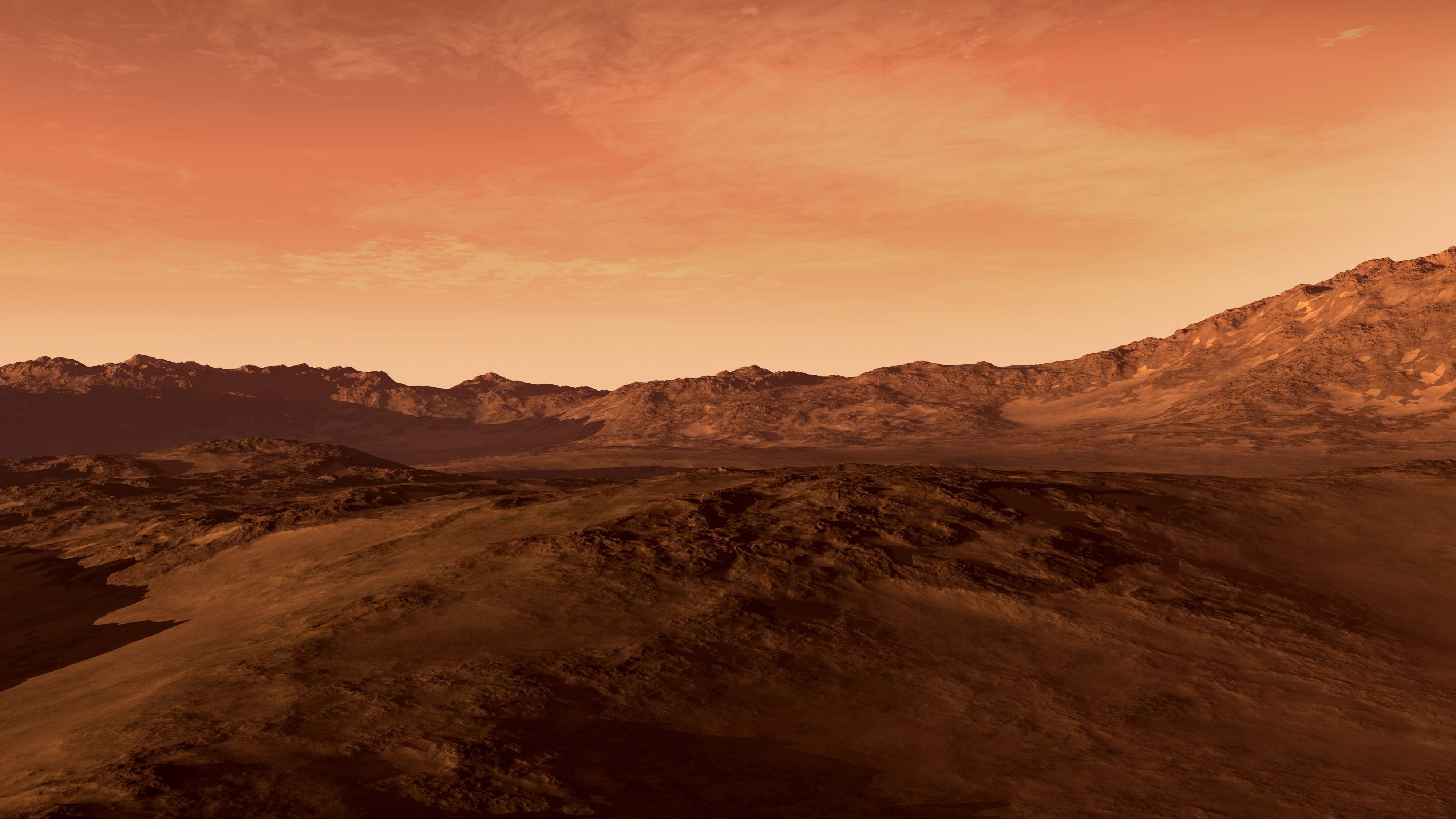 cielo di Marte