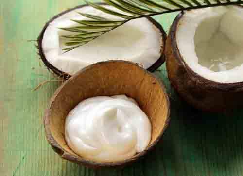 Crema con olio di cocco
