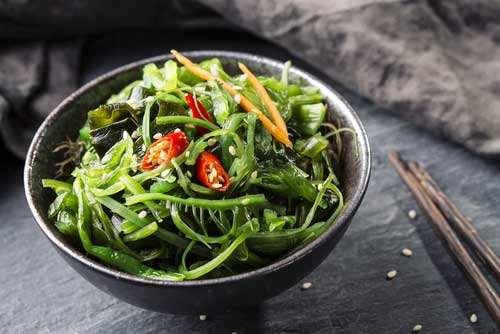 ricette con alghe
